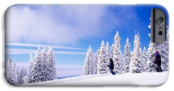 Northern Colorado iPhone Cases - Steamboat Springs, Colorado, Usa iPhone Case by Panoramic Images