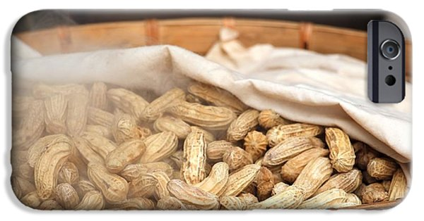 Chinese Market iPhone Cases - Steamed Peanuts iPhone Case by Yali Shi