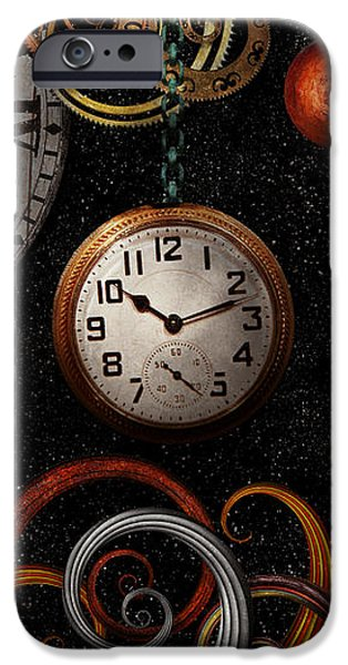 Steampunk - Abstract - The beginning and end iPhone Case by Mike Savad