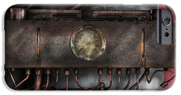 Mechanism iPhone Cases - Steampunk - Connections   iPhone Case by Mike Savad
