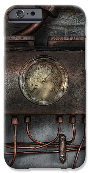 Steampunk - Connections   iPhone Case by Mike Savad