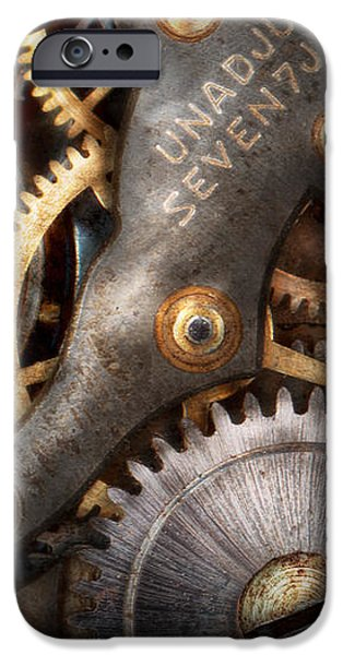 Steampunk - Gears - Horology iPhone Case by Mike Savad