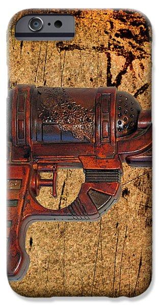 Steampunk - Gun - Ray Gun iPhone Case by Paul Ward