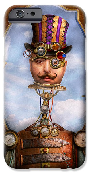 Integrated Photographs iPhone Cases - Steampunk - Integrated iPhone Case by Mike Savad