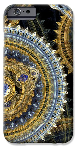 Steampunk machine iPhone Case by Martin Capek