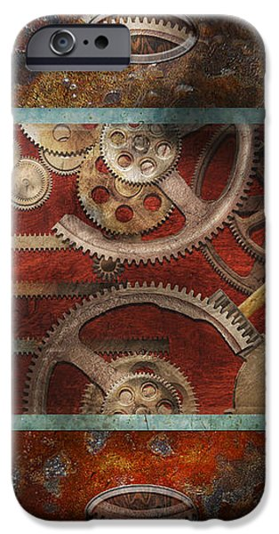Steampunk - Pandora's box iPhone Case by Mike Savad