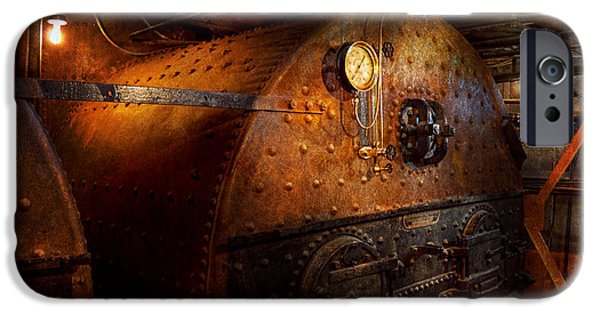Steampunk iPhone Cases - Steampunk - Plumbing - The home of a stoker  iPhone Case by Mike Savad