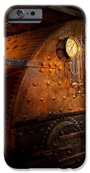 Steampunk - Plumbing - The home of a stoker  iPhone Case by Mike Savad