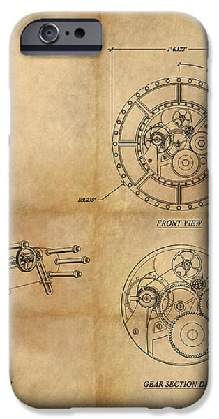 Steampunk Solar Disk iPhone Case by James Christopher Hill