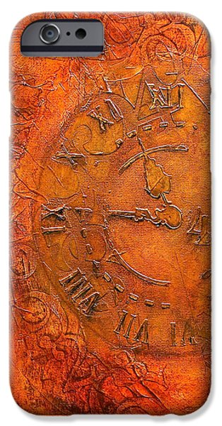 Steampunk Time iPhone Case by Bellesouth Studio