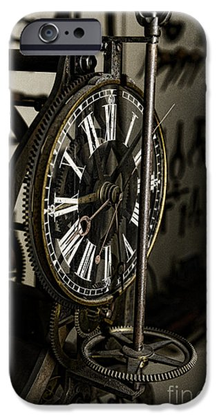 Gut iPhone Cases - Steampunk - Timekeeper iPhone Case by Paul Ward