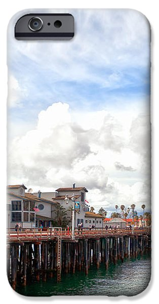 Stearns Wharf Santa Barbara California iPhone Case by Artist and Photographer Laura Wrede