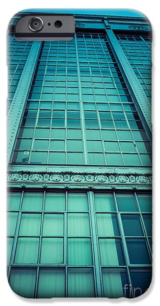 Buildings iPhone Cases - Steel and Glass iPhone Case by Edward Fielding