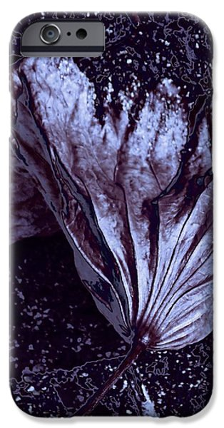 Nature Abstracts iPhone Cases - Steel Blossom iPhone Case by  Andrea Lazar