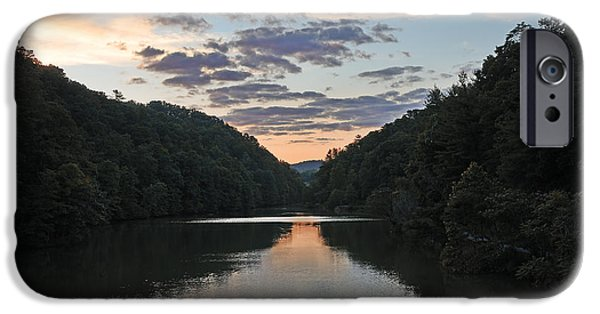Nature Scene iPhone Cases - Steele Creek Park - Bristol Tennessee iPhone Case by Brendan Reals
