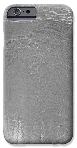 Snowy Night Mixed Media iPhone Cases - Steely Grey One Hill iPhone Case by Feile Case