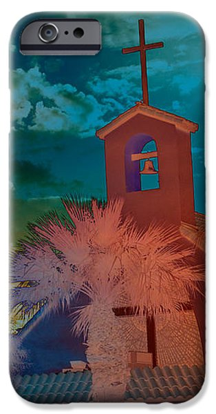 Steeple bell tower iPhone Case by Beverly Guilliams
