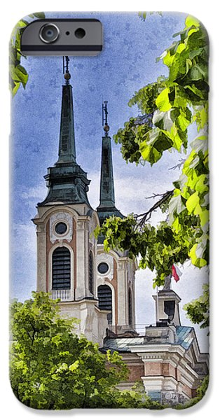 Speer iPhone Cases - Steeples  iPhone Case by Jon Berghoff
