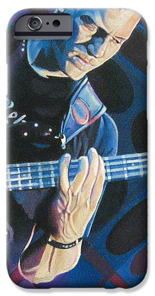 Stefan Lessard Pop-Op Series iPhone Case by Joshua Morton