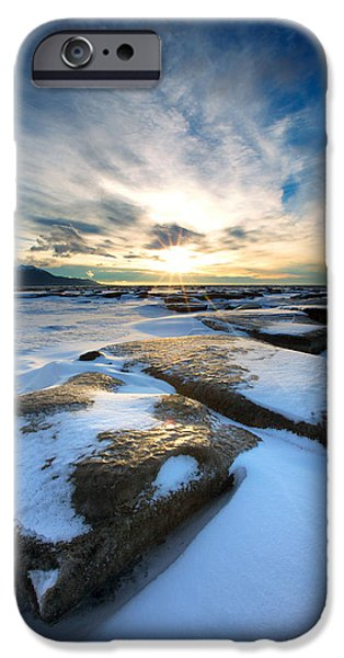 Low Tide iPhone Cases - Step Stone iPhone Case by Ed Boudreau