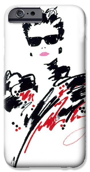 Stephanie iPhone Case by Giannelli