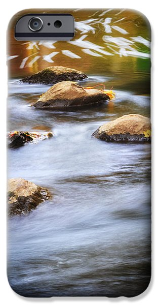 Stone Steps iPhone Cases - Stepping Stones iPhone Case by Bill  Wakeley
