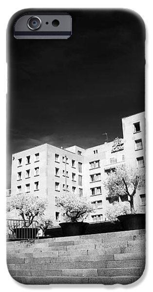 Steps in Marseille iPhone Case by John Rizzuto