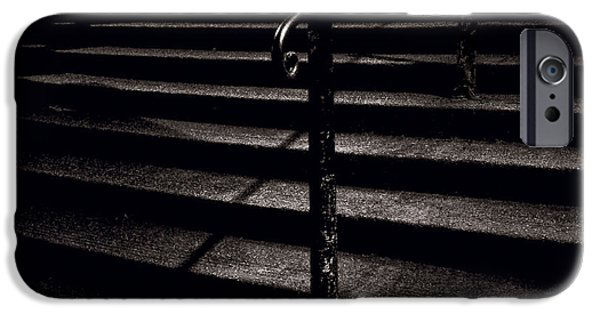Stone Steps iPhone Cases - Steps to Advocates Close iPhone Case by Dave Bowman