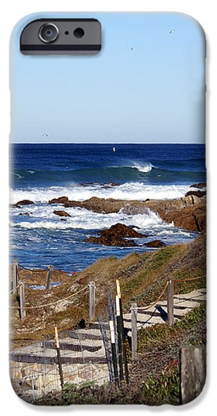 Steps To The Sea iPhone Case by Barbara Snyder