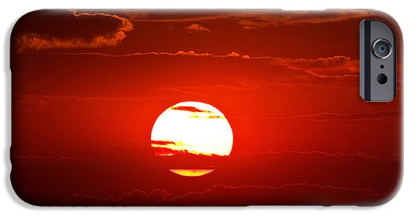Bright Photographs iPhone Cases - Steptoe Sunset iPhone Case by Mark Kiver
