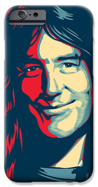 Steve Harris iPhone Case by Unknow