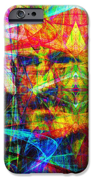 Steve Jobs Ghost In The Machine 20130618 Long iPhone Case by Wingsdomain Art and Photography