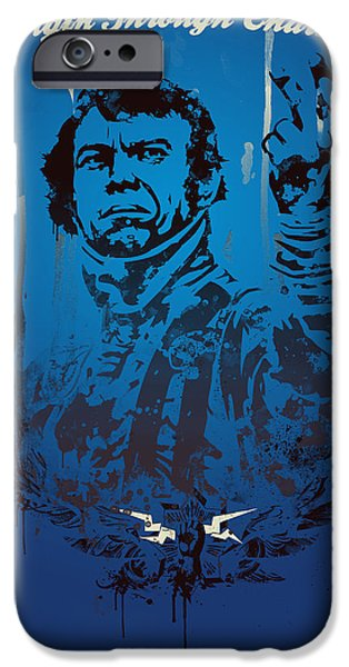 Steve Mcqueen iPhone Cases - Steve McQueen iPhone Case by Pop Culture Prophet
