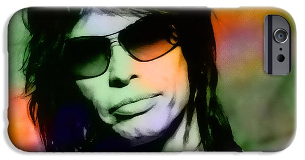 Steven Tyler iPhone Cases - Steven Tyler iPhone Case by Marvin Blaine