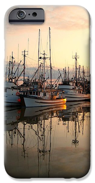 Best Sellers -  - Historic Site iPhone Cases - Steveston Harbour iPhone Case by Shirley Sirois