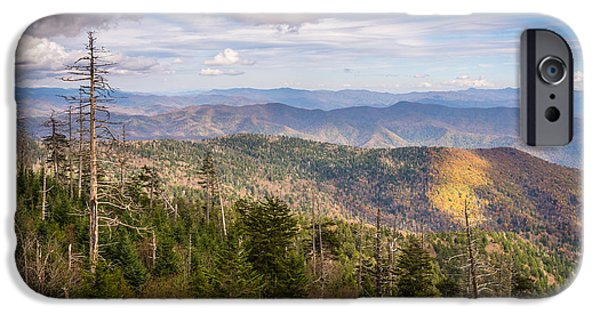 Smokey Mountains iPhone Cases - Still Alive iPhone Case by Clay Townsend