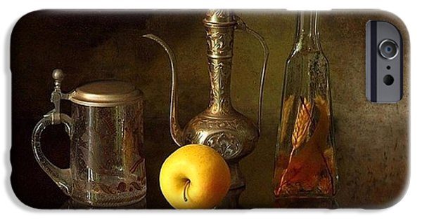 Tankard iPhone Cases - Still Life 4 iPhone Case by Adam Orzechowski