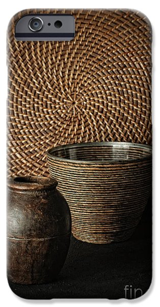Woven iPhone Cases - Still Life iPhone Case by HD Connelly