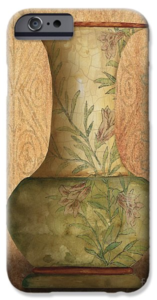 Pottery Pitcher iPhone Cases - Still Life-IA iPhone Case by Jean Plout