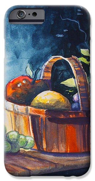 Still Life in Watercolours iPhone Case by Karon Melillo DeVega