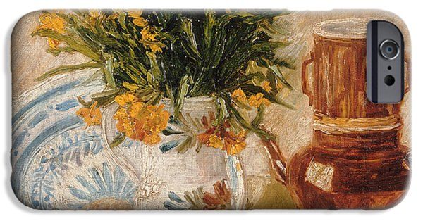 In Bloom Paintings iPhone Cases - Still Life iPhone Case by Vincent van Gogh