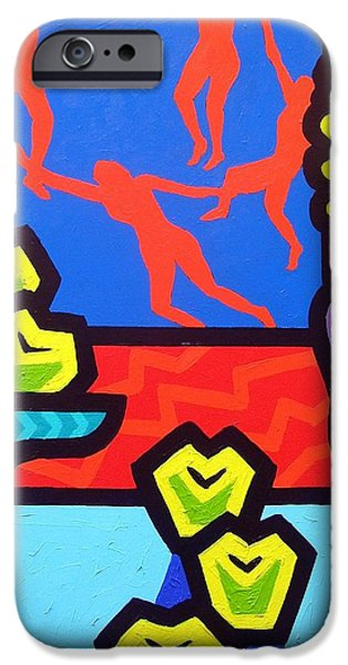 Still Life With Matisse iPhone Case by John  Nolan