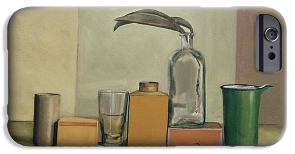 Ledge iPhone Cases - Still Life with Passion Pods  iPhone Case by William Packer