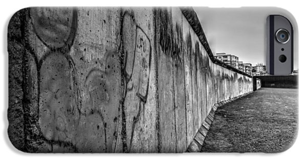 Sombre iPhone Cases - Still Standing iPhone Case by Chris Whittle