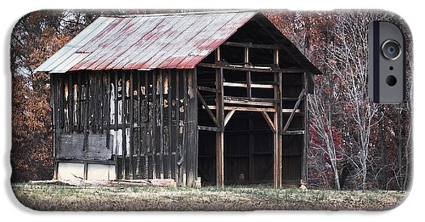 Old Barns iPhone Cases - Still Standing iPhone Case by Patrick M Lynch