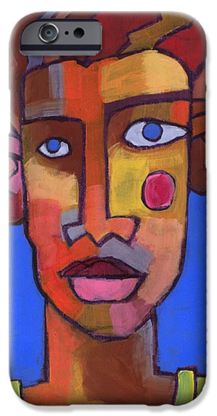 Figures Paintings iPhone Cases - Still Waters iPhone Case by Douglas Simonson