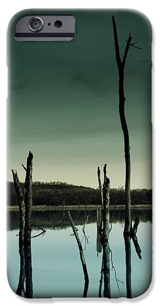 Stillness iPhone Cases - Stillness iPhone Case by Shane Holsclaw
