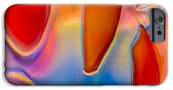 Nature Abstracts Glass iPhone Cases - Stitch iPhone Case by Omaste Witkowski