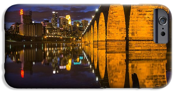 Minneapolis iPhone Cases - Stone Arch iPhone Case by Bryan Scott