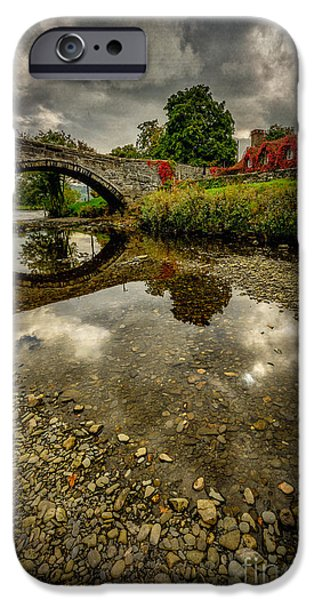 Stone Buildings iPhone Cases - Stone Bridge iPhone Case by Adrian Evans